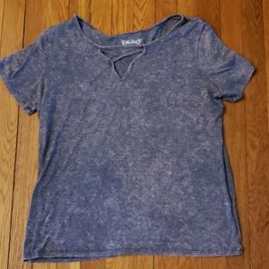 Mudd Criss Cross T-Shirt XL